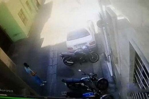 ببینید | دزدی موتور در روز روشن در سه سوت!