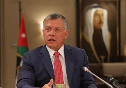 پادشاه اردن اسرائیل را تهدید کرد