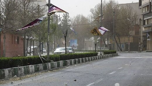 هواشناسی؛ احتمال تندباد موقت در تهران