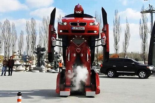 ببینید   خودرویی که فقط 30 ثانیه طول می کشد تا به یک ربات تبدیل شود!