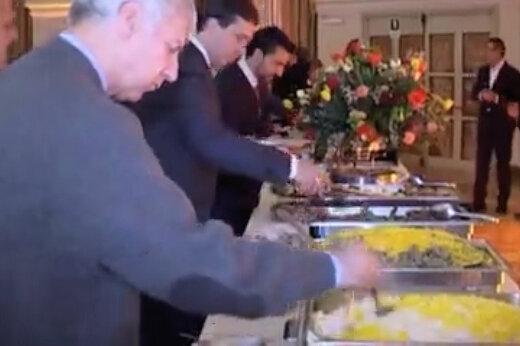 ببینید | گزارش جدید معصومی نژاد از رم:استقبال ایتالیایی ها از محصولات غذایی ایرانی!