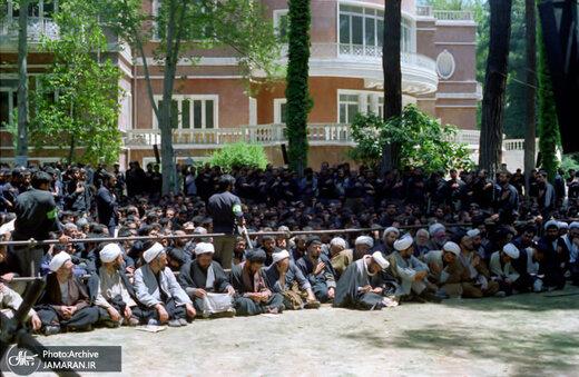 اولین تصاویر منتشر شده از بیعت جهادگران با رهبر انقلاب