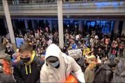 ببینید | تسخیر شهرداری سیاتل بدست معترضان به نژادپرستی در آمریکا