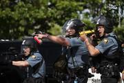 ببینید | لحظه شلیک مستقیم پلیس آمریکا به صورت یک دختر!