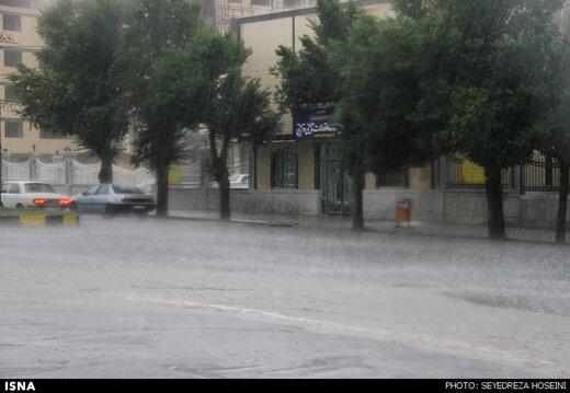 هشدار هواشناسی نسبت به وقوع رگبار باران در ۱۲ استان کشور