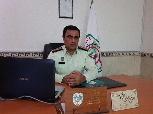 رئیس پلیس فتای همدان: تمامی اراذل و اوباش تحت کنترل پلیس هستند