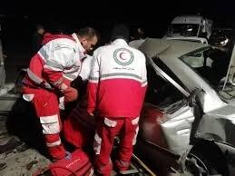 یک کشته و 5 مصدوم در تصادف محور پارک ملی گلستان