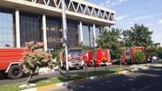 ببینید | جزئیاتی از آتش سوزی در سازمان صدا و سیما