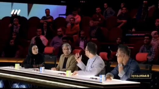 ببینید | جدال لفظی بشیر حسینی و رویا نونهالی در پشت صحنه عصرجدید