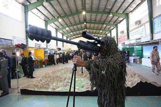این سلاح مرگبار ایرانی، دشمنان را آچمز کرده است /تکتیرانداز آرش؛ تیری زهرآگین بر پیشانی دشمن +تصاویر