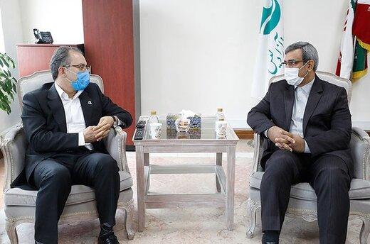 تعامل و همکاری سازنده میان سازمان منطقه آزاد کیش و شرکت بیمه ایران معین