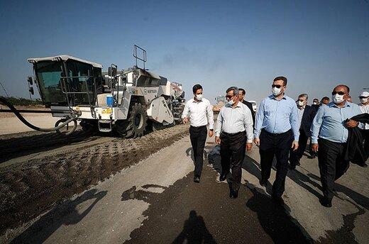 دکتر مظفری از افتتاح باند جنوبی فرودگاه کیش در بهمن ماه سال جاری خبر داد