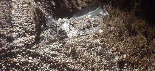 تصادف موتورسیکلت با ۴ سرنشین، یک کشته برجا گذاشت