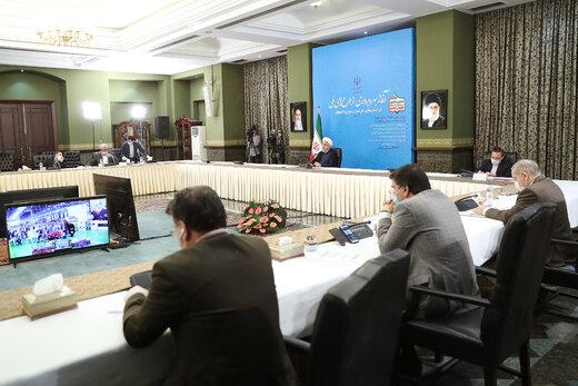 روحانی:تحریم ما را از حرکت باز نمیدارد/بدنبال صادرات مستمر باشیم
