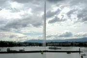 ببینید | گردش آب در آبنمای شهر ژنو پس از ۸۳ روز از سر گرفته شد