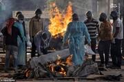 ببینید   ترافیک مرده سوزی اجساد کرونایی در هند