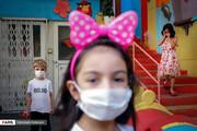 تصاویر | بازگشایی مهدهای کودک با رعایت اصول کرونایی