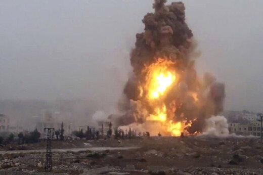 ببینید | لحظه انفجار مرگبار نفتکش که ۴ کشته و ۱۵ زخمی بر جا گذاشت