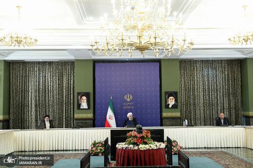 تصویری از اولین جلسه شورای عالی امنیت ملی با ترکیب جدید سران قوا/ هم قالیباف آمد هم ظریف و شمخانی