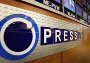 حمله به خبرنگار «پرستیوی» در جریان اعتراضات لندن