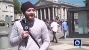 حمله راستگرایان به خبرنگار پرس تی وی در لندن