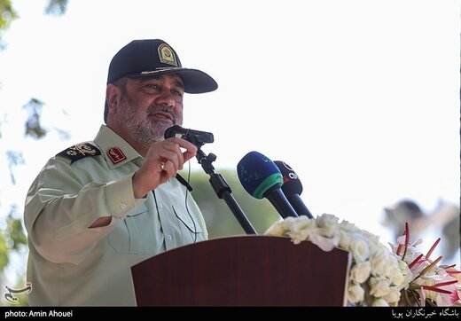 Iran secure, stable country in region, Police Chief says