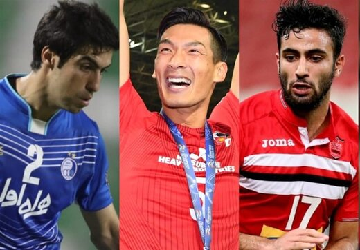 محرمی و حیدری در میان بهترین مدافعان لیگ قهرمانان آسیا در سال ۲۰۱۷/عکس