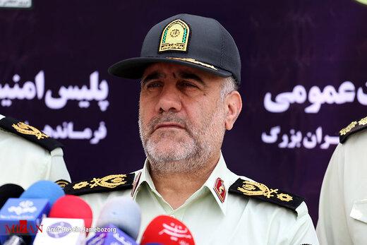 رئیس پلیس تهران: با ترکنشینان بدحجاب موتور برخورد میکنیم
