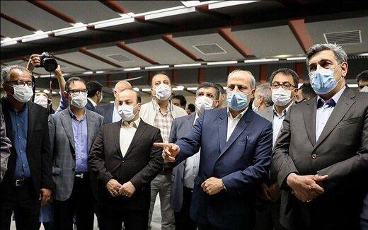 شهردار تهران: تکمیل خطوط مترو در اولویت قرار دارد