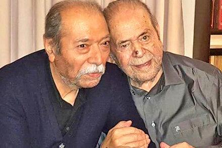 ببینید | آواز خوانی علی نصیریان در کنار مرحوم محمدعلی کشاورز