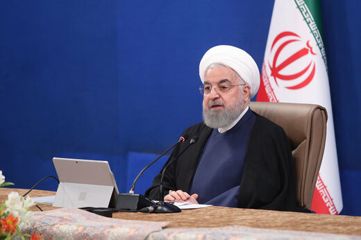 President Rouhani blasts US for pressuring IMF