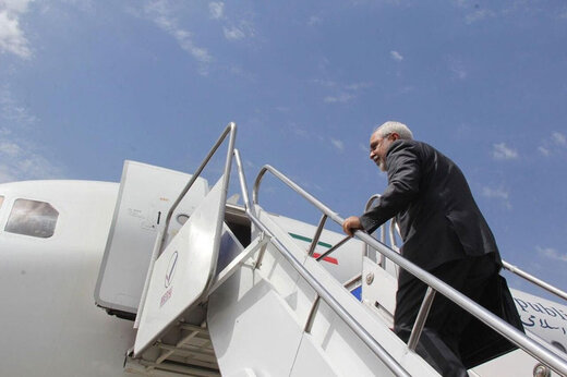 ببینید | آغاز سفرهای دیپلماتیک محمد جواد ظریف و پایان رسمی تعطیلات کرونایی دیپلماسی