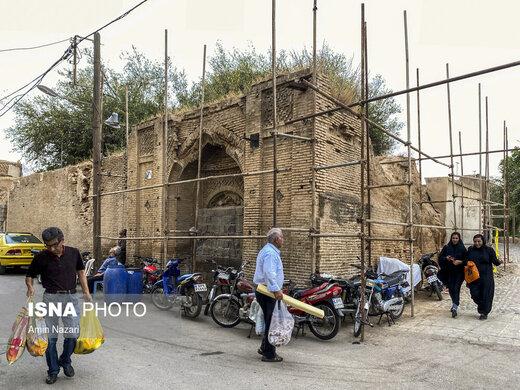 سایه ویرانی بر بافت تاریخی شهر «دزفول»