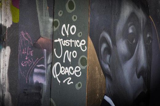 ببینید | نقاشیهای دیواری هنرمندان تورنتو در اعتراض به نژادپرستی