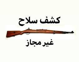 """کشف ۲ قبضه سلاح شکاری غیرمجاز در """"سامان"""""""