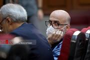 تصاویر | چهارمین جلسه رسیدگی به اتهامات اکبر طبری متهمان دیگر