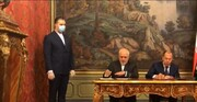 امضای اعلامیه مشترک ایران و روسیه در زمینه ارتقای حقوق بینالملل