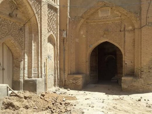 مرمت خانه تاریخی رحیمی شوشتر آغاز شد