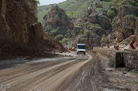 استمرار خطر در جاده خرم آباد_پلدختر