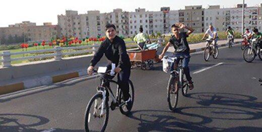 تجهیز پلهای عابر پیاده به رمپ عبور دوچرخه