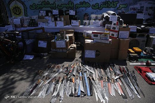 ستگیری ۱۴۶۰سارق و توزیع کننده مواد مخدر در طرح رعد۳۶