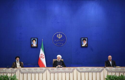 روحانی: مسیر رشد کشور با وجود تحریم و کرونا ادامه یافته است