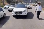 ببینید | ترافیک سنگین در محورهای ورودی گیلان