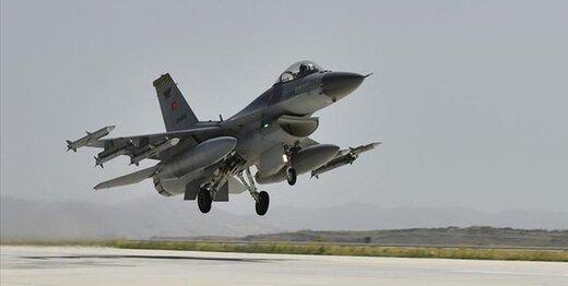 جنگنده های ترکیه بار دیگر به شمال عراق حمله کردند