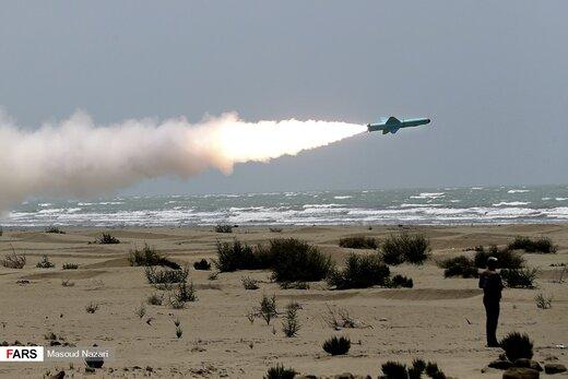 رزمایش موشکی ارتش در شمال اقیانوس هند