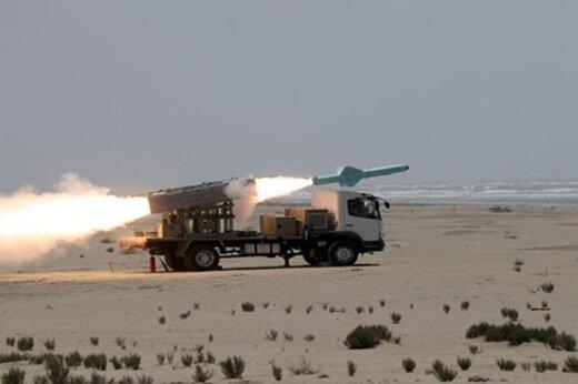 ببینید | شلیک موفق دو موشک کروز در تمرین دریایی جاسک توسط ارتش