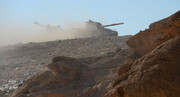 فرارسرکردگان حزب دموکرات کردستان بعد از حملات موشکی سپاه به مقر تروریستها /گشتزنی پهپادهای سپاه بر فراز مخفیگاه گروهک تروریستی