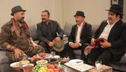مهمانی شام امیرحسین صدیق برای همکارانش