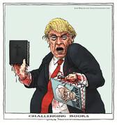 این دو کتاب، جان ترامپ را تهدید میکنند!