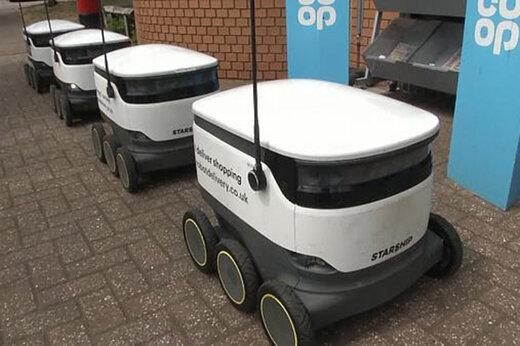 ببینید | ماشین های کوچکی که جایگزین پیک رستوران ها خواهند شد